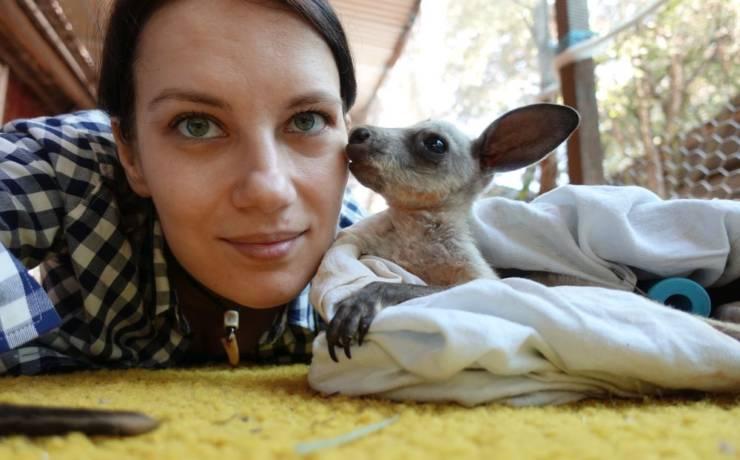 Opiekowałam się osieroconymi kangurkami